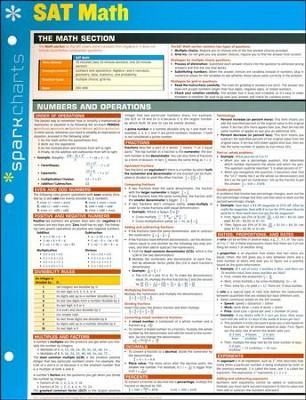 Sat math sparkcharts sparknotes 9781411470620 christianbook com