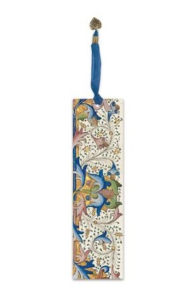 Illuminated Bookmark The Rice Psalter  -