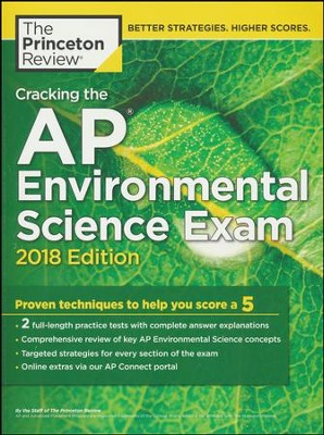 Cracking the AP Environmental Science Exam, 2018 Edition  -     By: Princeton Review