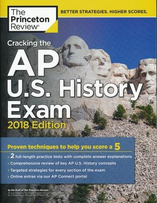 Cracking the AP U.S. History Exam, 2018 Edition  -     By: Princeton Review