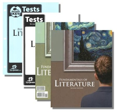 BJU Fundamentals of Literature Grade 9 Homeschool Kit  (Second Edition)  -
