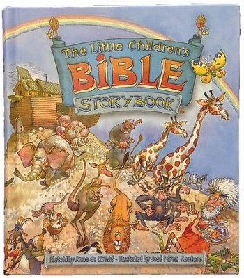 The Little Children's Bible Storybook  -     By: Anne de Graf