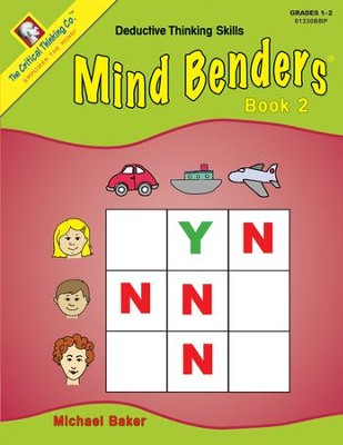 Mind Benders Beginning Book 2   -     By: Michael Baker