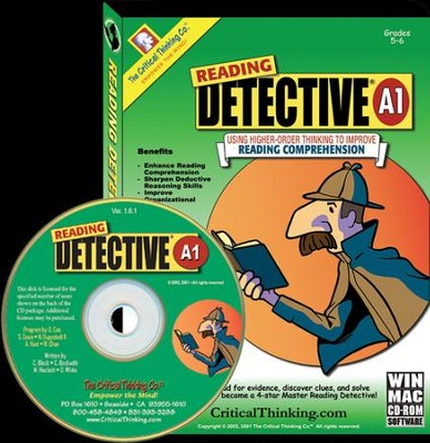 Reading Detective A1 (Grades 5-6) on CD-ROM     -