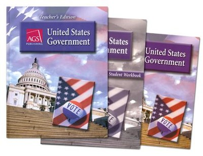 AGS United States Government Homeschool Bundle   -