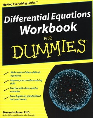 Differential Equations Workbook For Dummies &#174  -     By: Steven Holzner