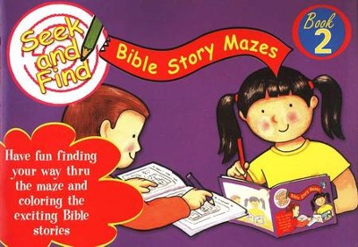 Seek and Find Bible Mazes #2  -