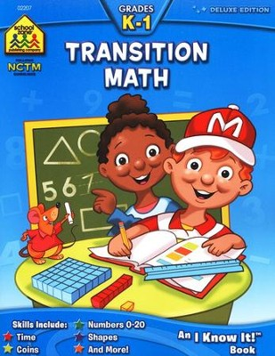 Transition Math, Grades K-1   -