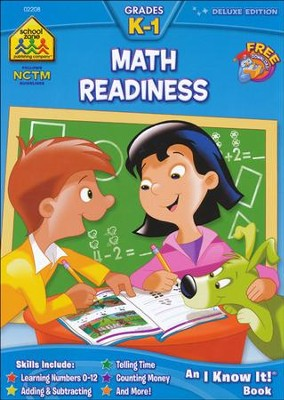 Math Readiness, Deluxe Edition, Grades K-1   -