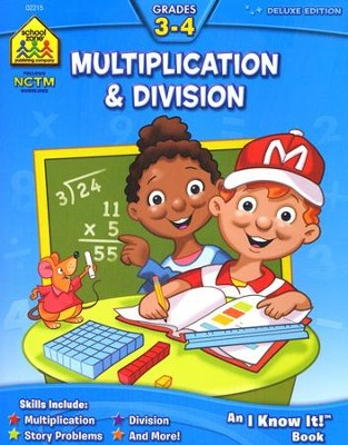 Multiplication & Division, Grades 3-4   -