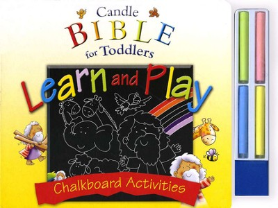 Candle Bible for Toddlers: Learn and Play Chalkboard Activities   -     By: Juliet David     Illustrated By: Helen Prole