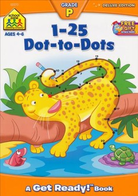 1-25 Dot-to-Dot, Ages 4-6   -