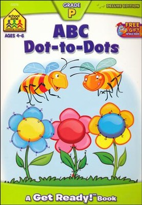 ABC Dot-to-Dot, Ages 4-6, A Get Ready Deluxe Edition Workbook   -