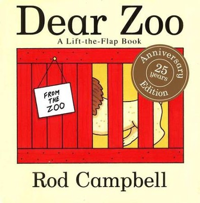 Dear Zoo: A Lift-the-Flap Board Book   -     By: Rod Campbell     Illustrated By: Rod Campbell