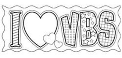 I Love VBS, Bookmark   -
