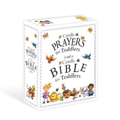 Candle Prayers for Toddlers and Candle Bible for Toddlers, Boxed Set  -