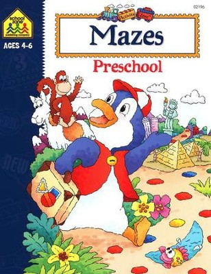 Mazes Preschool, Ages 4-6   -     By: Joan Hoffman