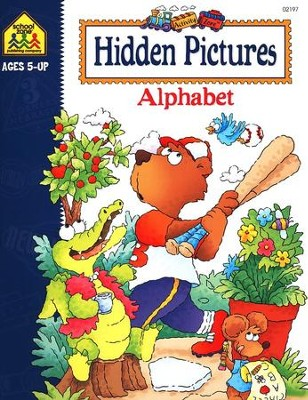 Hidden Pictures Alphabet, Ages 5 & Up   -     By: Julie Orr
