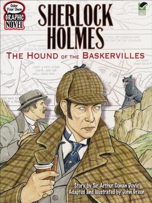 Color Your Own Graphic Novel: Sherlock Holmes  -     By: Sir Arthur Conan Doyle