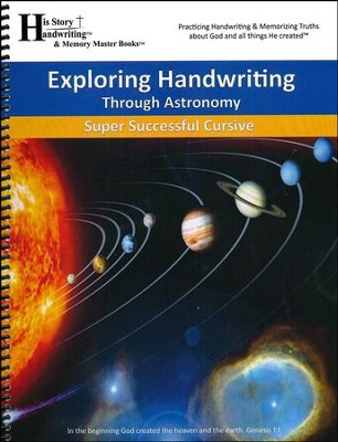Exploring Handwriting Through Astronomy (Cursive Edition)  -