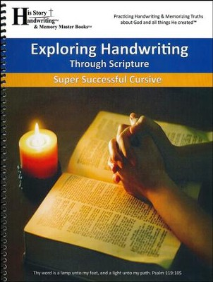 Exploring Handwriting Through Scripture (Cursive Edition)  -