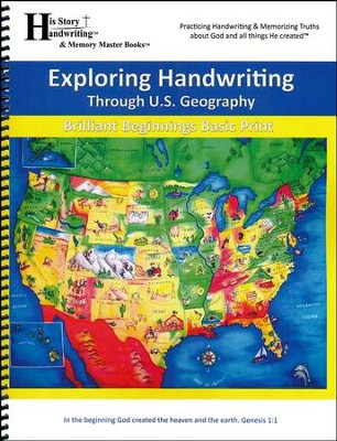 Exploring Handwriting Through U.S. Geography (Print Edition)  -