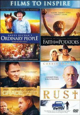 Films to Inspire: Angus Buchan's Ordinary People, Faith Like Potatoes, The Grace Card and Rust  -