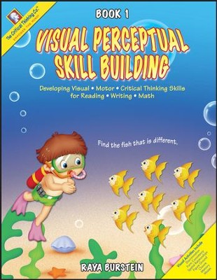 Visual Perceptual Skill Building PreK-Grade 1 Ability Book 1  -     By: Raya Burstein