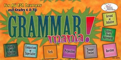 Grammar Mania! Game   -