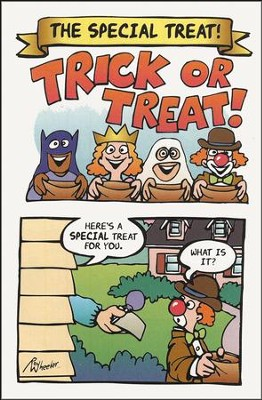 The Special Treat! (NIV), Pack of 25 Tracts    -     By: Good News Publishers