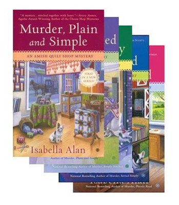 Amish Quilt Shop Mysteries, Volumes 1-5  -     By: Isabella Alan