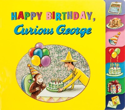 Happy Birthday, Curious George  -     By: H.A. Rey