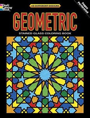 Geometric Stained Glass Coloring Book  -     By: Dover