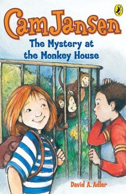 Cam Jansen: The Mystery of the Monkey House #10: The Mystery of the Monkey House #10 - eBook  -     By: David A. Adler     Illustrated By: Susanna Natti