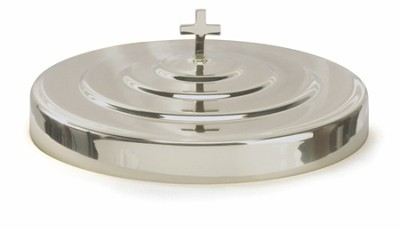 Chrome Communion Tray Cover  -     By: Artistic Churchware
