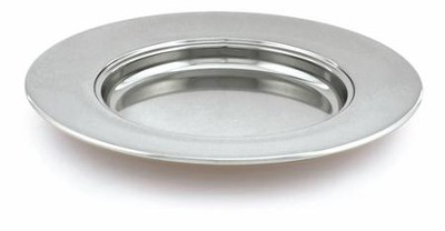 Chrome Bread Plate   -     By: Artistic Churchware