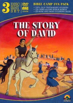 The Story of David, 3 Disc Multimedia Set   -