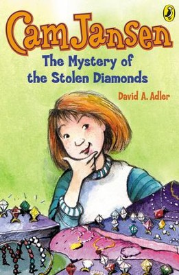 Cam Jansen: The Mystery of the Stolen Diamonds #1: The Mystery of the Stolen Diamonds #1 - eBook  -     By: David A. Adler     Illustrated By: Susanna Natti