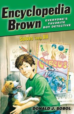 Encyclopedia Brown Solves Them All - eBook  -     By: Donald J. Sobol