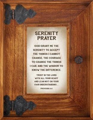 serenity prayer framed art by lea metts