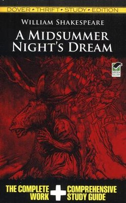 A Midsummer Night's Dream, Dover Thrift Study Edition  -     By: William Shakespeare