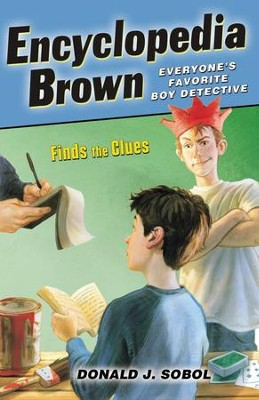Encyclopedia Brown Finds the Clues - eBook  -     By: Donald J. Sobol