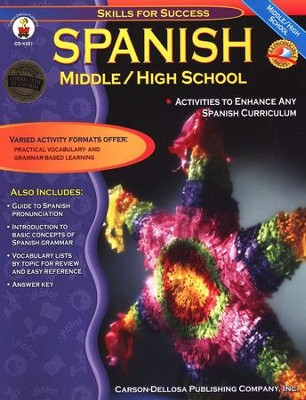 Spanish Middle School, Middle-High School   -     By: Cynthia Downs