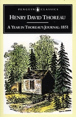 A Year in Thoreau's Journal: 1851 - eBook  -     By: Henry David Thoreau