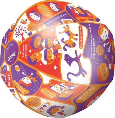 Preschool Throw & Tell Ball  -