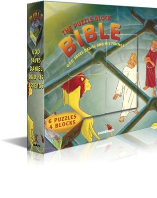 God Saves Daniel and His Friends--The Puzzle Block Bible  -