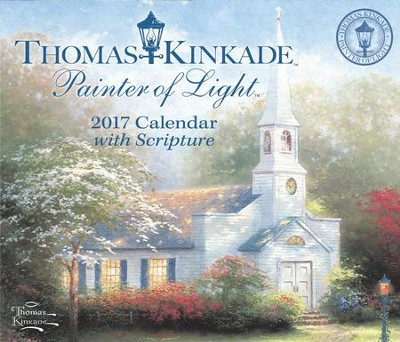 2017 Painter of Light Day To Day Calendar  -     By: Thomas Kinkade