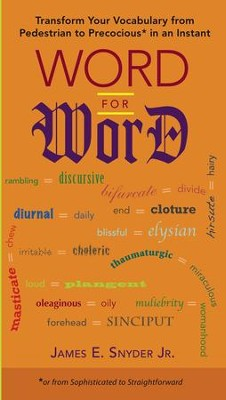 Word for Word - eBook  -     By: James E. Snyder Jr.