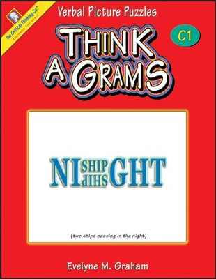 Think-A-Grams Grades 9-12 Ability Book C1   -     By: Homeschool