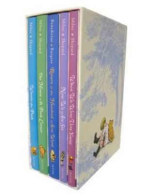 Winnie The Pooh Deluxe Gift Box - eBook  -     By: A.A. Milne     Illustrated By: Ernest H. Shepard